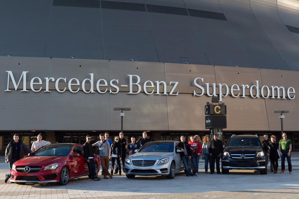 #mbrt14 at Mercedes-Benz Superdome