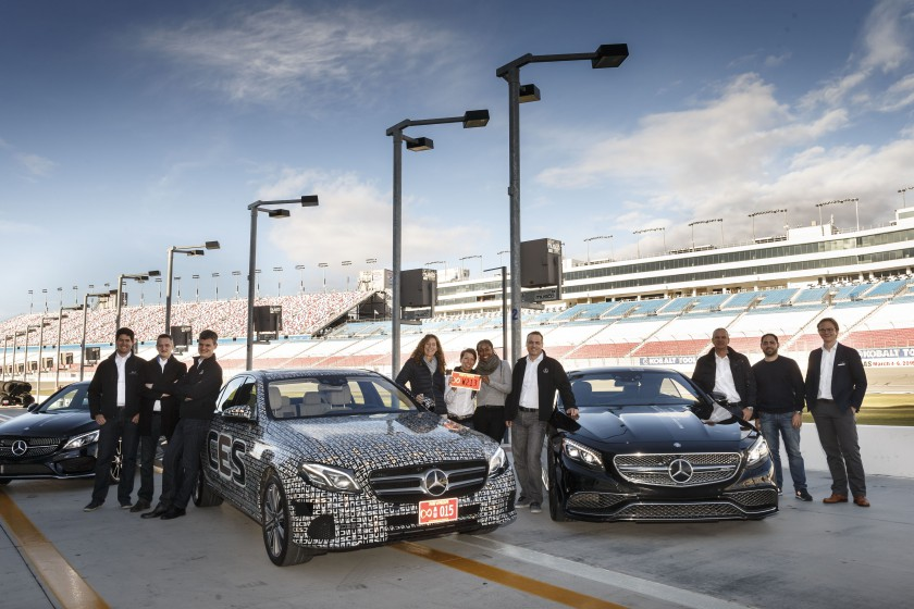 Mercedes-Benz Intelligent Drive, Las Vegas 2016